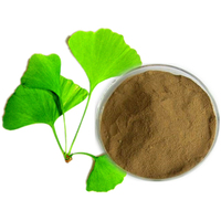 Natural Ginkgo Biloba Extract / Ginkgo Dry Extract Ginkgoflavon Glycosides24%, Terpene Lacosides6%