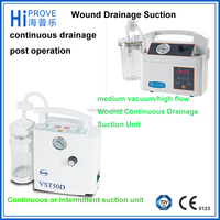 8 L/min portable closed wound suction unit