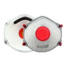 N95 Disposable Filter Dust Mask with Valve Carbon Mask