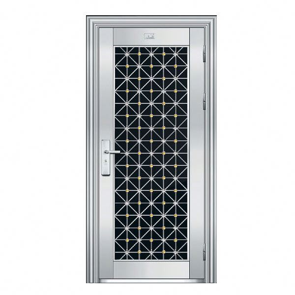 Good quality Home single stainless steel safety door design