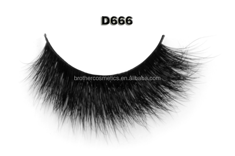 Free shipping hot sale naturally volume 3D mink lashes false eyelash extension