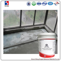 CCCW High elastic thickness Cementitious Capillary Crystalline Waterproofing Coating for balcony