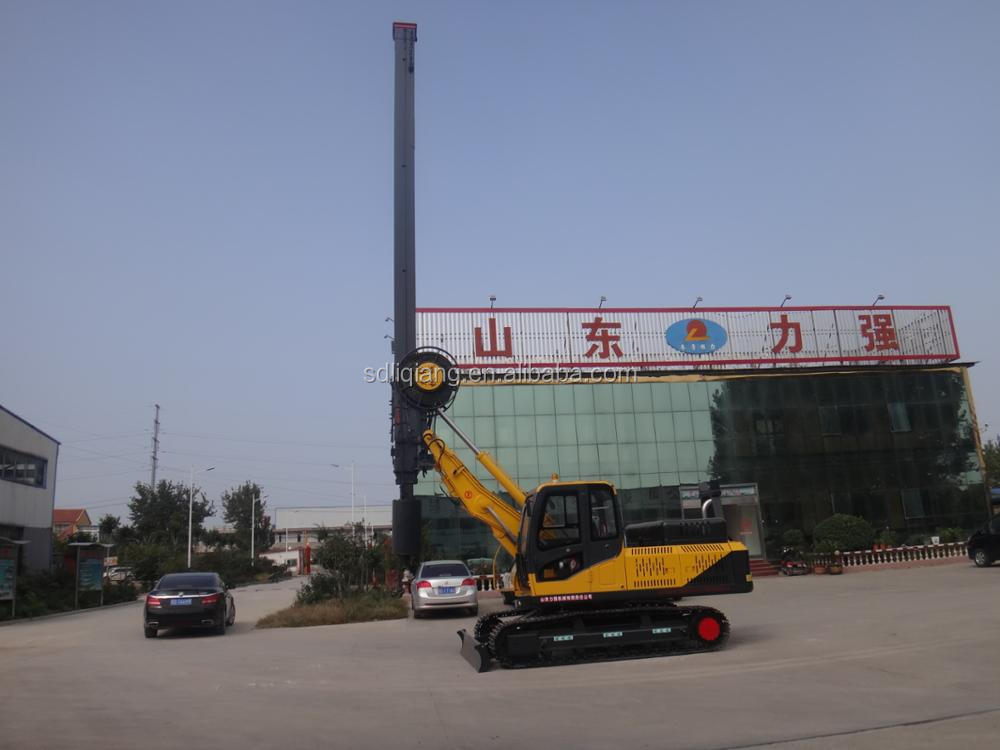 crawler 360 degree rotary drilling rig