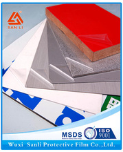 Different Models of mill polised aluminum/stainless steel used protective film