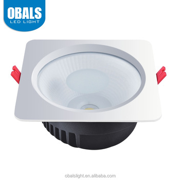 Obals Supply adjustable 30w square ul led recessed down lights fixture