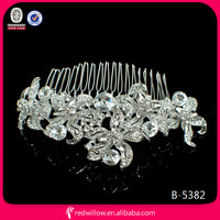large diamond types of hair combs import hair accessories ladies for lady