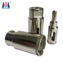 High quality diamond electroplated core drill bit for marble glass ceramic porcelain