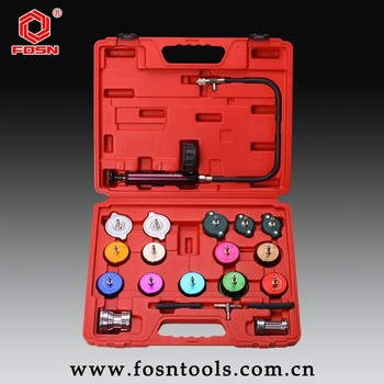 Cooling System Radiator Hydraulic Pressure Test Kit 21pcs