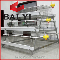 Chinese Laying Rasising Backyard Chicken Coop Fo Sale(A Type & H Type Layer Chicken Cage)