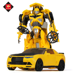 Wholesale new product plastic deformation robot toy car