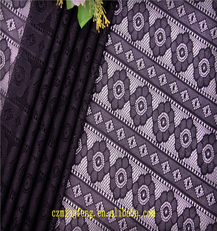 2017 African Sequence Textile Lace Fabric For Sale For Sale In China
