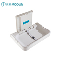 REACH wall mount Commercial Restrooms anti-bacterial PE horizontal infant changing table baby diaper changing station