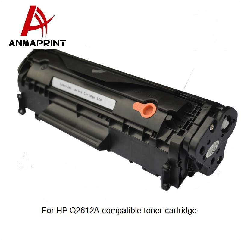China Wholesale compatible toner cartridge 2612a 12a Q2612a for hp printer