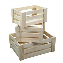 Wood Shipping Unfinished Crates and Pallet Large Wood Crate for sale