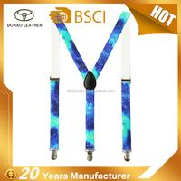 Custom Colorful Printed Y-Shape Children's Suspenders