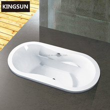 Ladies Bathing In Bathroom Acrylic Classical Shallow Bathtub