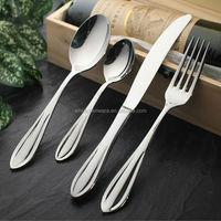 18/0 Cutlery Set Stainless Steel/Korean Fork And Spoon Set