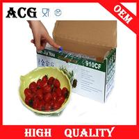 high-end market fresh keeping silicone pvc stretch film for food wrap with slide cutter