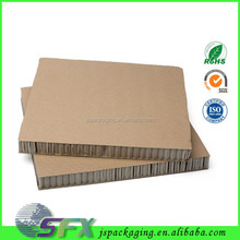 Top quality promotion kraft paper honeycomb board cellular board