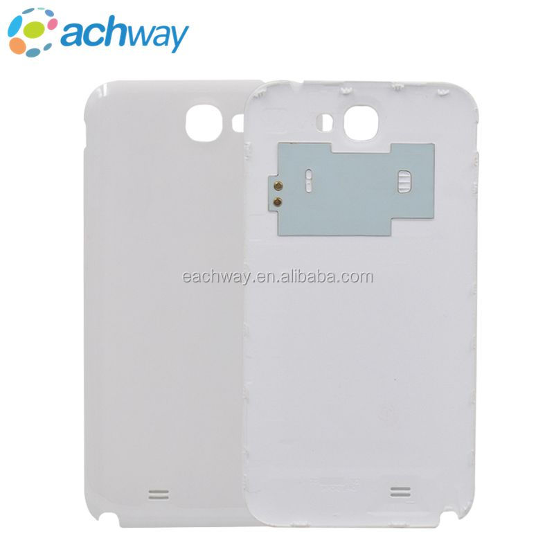 Factory price Battery Door Case Back Cover For samsung galaxy note 2 n7100 Housing replacement white color