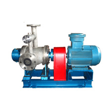 food grade stainless steel electric fuel oil transfer twin screw rotary pumps