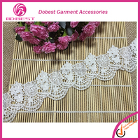 Garment Accessories Suppliers Quick Lead Factory Direct Price Gray Lace Trim