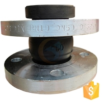 Dn125 DIN standard single sphere soft pipe rubber joint supplier