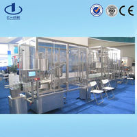 medical glass vial fluids packaging machinery