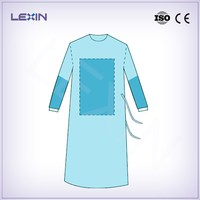 Free sample disposable hospital gown