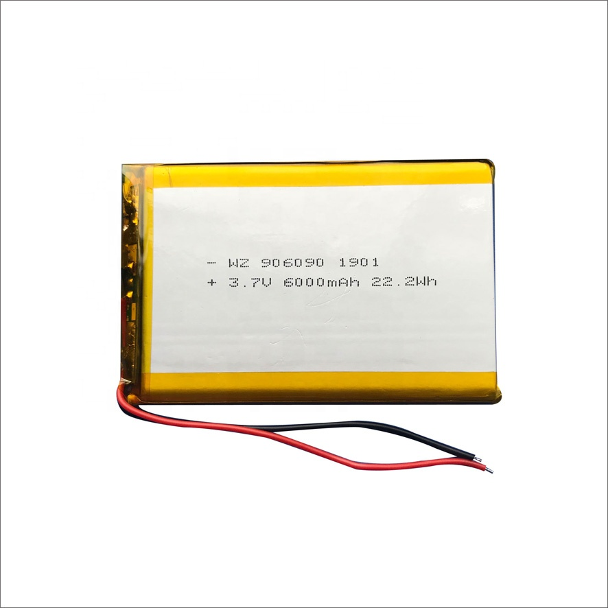 Polymer Lithium-ion <strong>Battery</strong> 3.7V 906090 6000mah Recharge <strong>Battery</strong> for Digital Products Power Bank <strong>Battery</strong>
