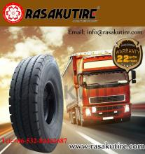 china radial new 24.5 truck trailer tire with Smartway and insurance for the US market