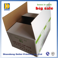 Strong Double Flutes Corrugated Cartons Shipping Box in Stock