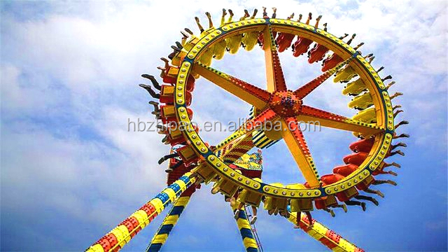 China roller coaster manufacturer supply hot sale thrilling rides big desktop pendulum for sale