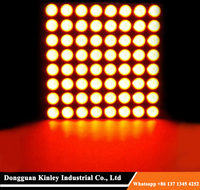"1.2"" square dot matrix led display 8x8 array led dot matrix display module 32x32mm"