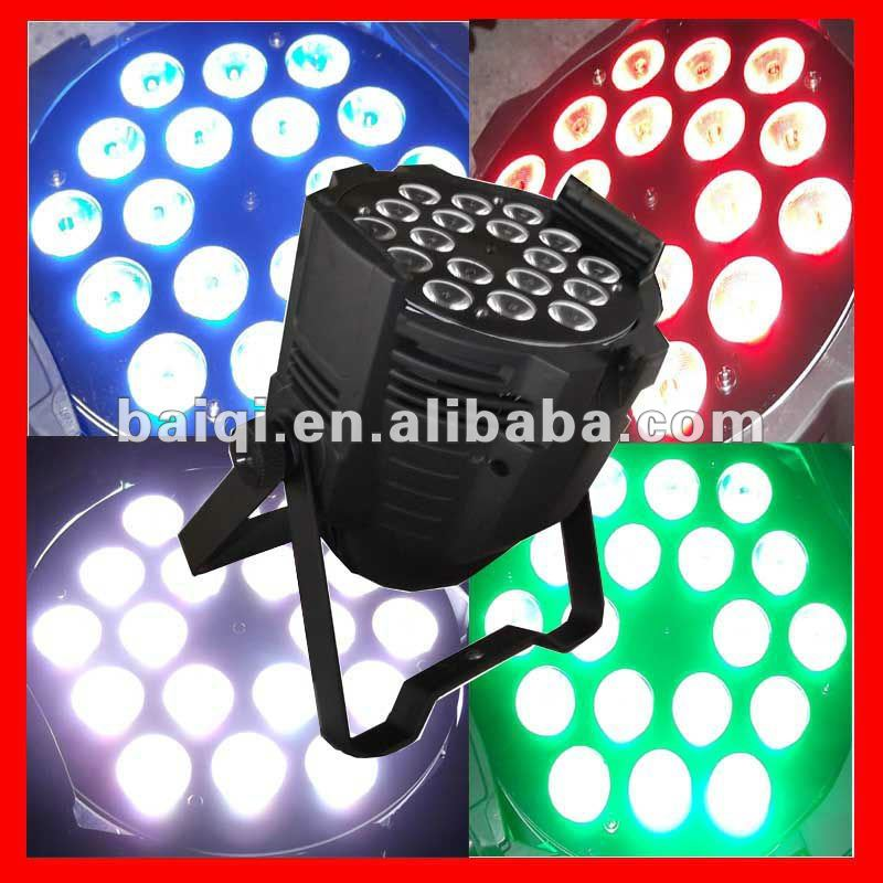 2013 Hot! 7CH/8CH 200w GuangZhou led rgbw 4in1 par tri color christmas light show equipment
