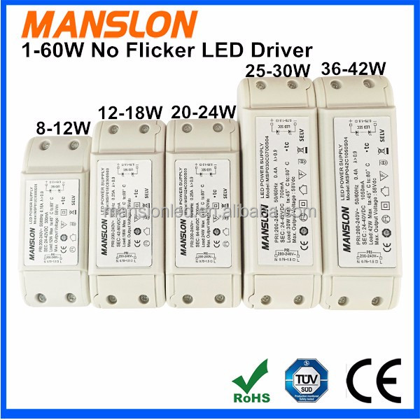Good quality low price constant current 150mA 300mA 3x1W ES LED driver power supply