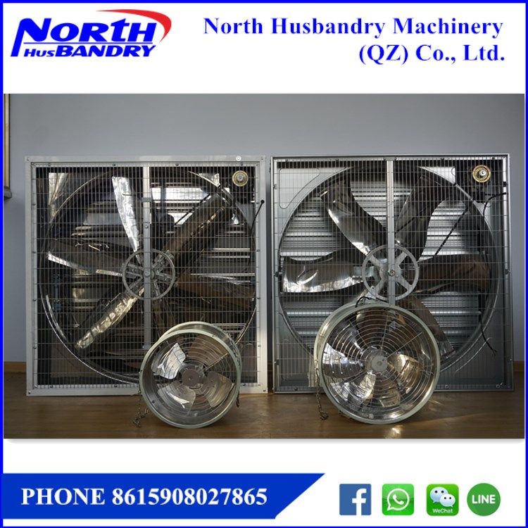 Barn exhaust fan|50 inch industrial fan|exhaust shutters|inlet shytters