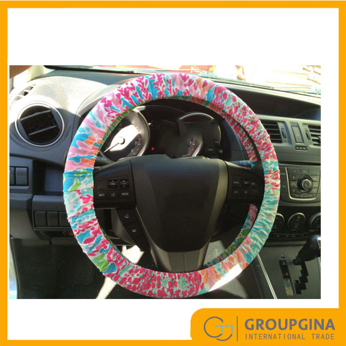 Wholesale New Design Personalized Fashion Lilly Pulitzer Steering Wheel Cover