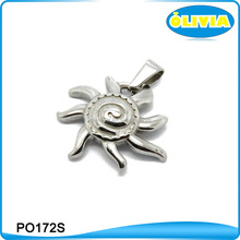 Fashion Jewelry 2017 Mexican Silver Color Design Your Own Necklace Sun Design Pendant