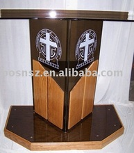 Wood Lectern & Dais, Podium & Pulpit,Rostrum & Platform