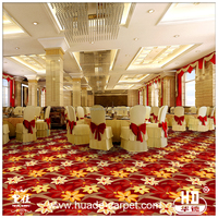 2015 New Hot Floral Pattern Wall to Wall Wilton Carpet Design