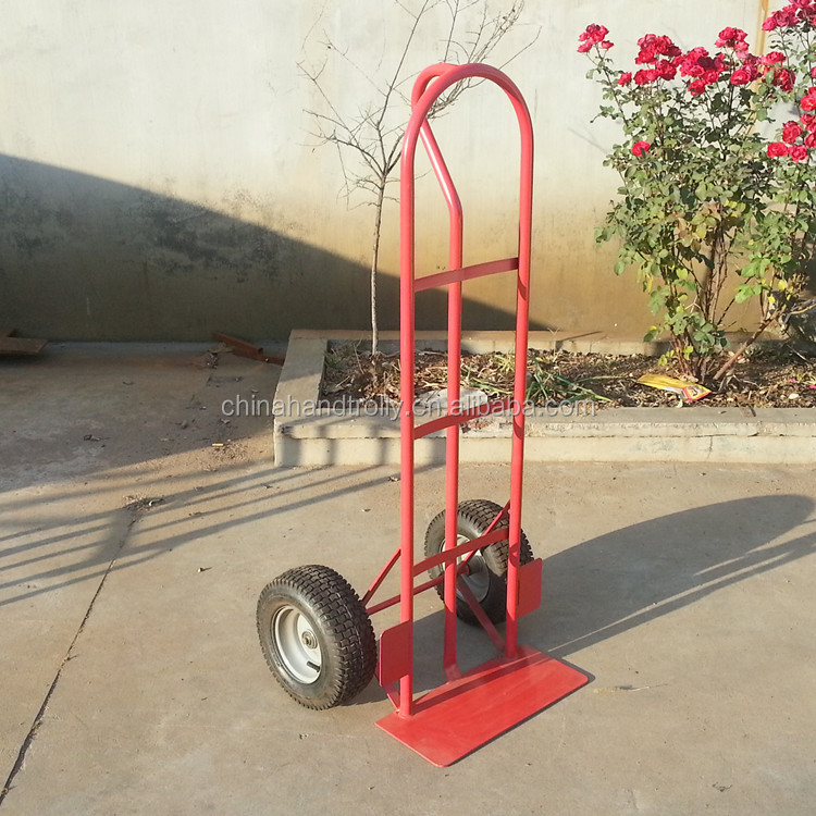 CE certification two wheel hand trolley convenient hand pull trolley