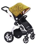 2016 multi-function color changeable ningbo walker for baby