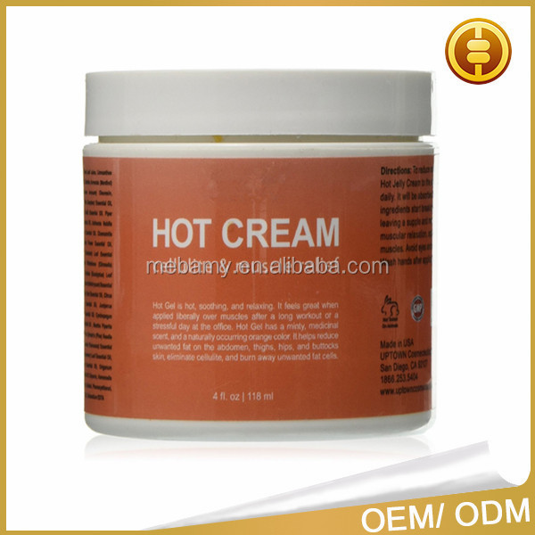 100% Natural Cellulite Treatment Promotes Supple Toned Skin Muscle Relaxant Pain Relief Hot Cream