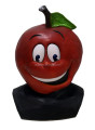 Lovely masquerade Fancy dress Latex Cartoon Apple Mask for advertising