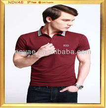 Custom polo t-shirt latest shirt designs for men 2013 polo shirt