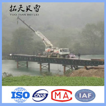 GB/BS Steel Structure Bridge manual and Heavy Type used bailey bridge for sale