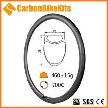 Factory Price CarbonBikeKits38mm clincher carbon fiber bicycle rim road rims 20/24 WR38C