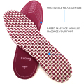 soft foam Shock Absorbance Massage insole