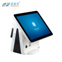 15'' cash registers capacitive touch screen pos terminal cheap used in supermarket cashier desk